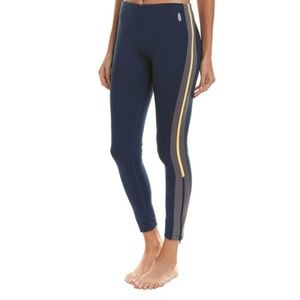 NWT Free People Dale Active Track Pants Navy Small